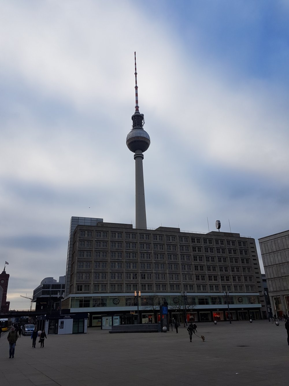 The iconic Berlin TV Tower