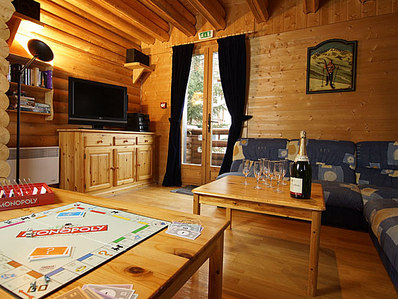 Ski Chalet in the French Alps