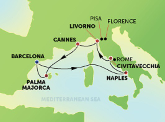 NCL Epic Western Med Cruise - Image 3