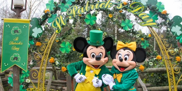 CELEBRATE ST PATRICKS IN DISNEY PARIS