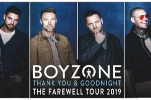 BOYZONE in LONDON PERFECT CHRISTMAS PRESENT