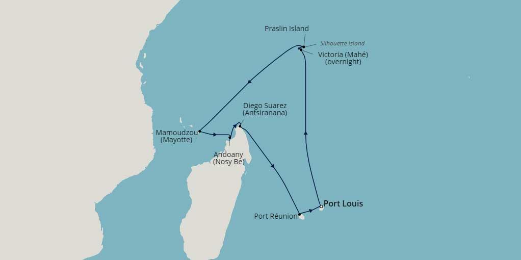 2 Week INDIAN OCEAN Cruise - Image 2