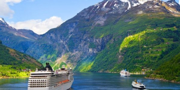 April 7 Night Celebrity Norwegian Fjord Cruise