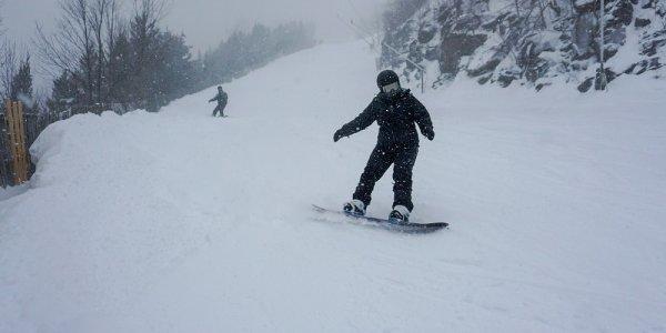 America Ski New York State USA