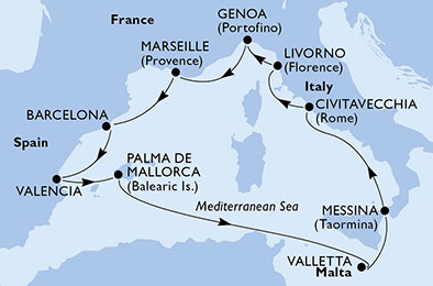MSC Sinfonia 10 Night Cruise £699pp - Image 4