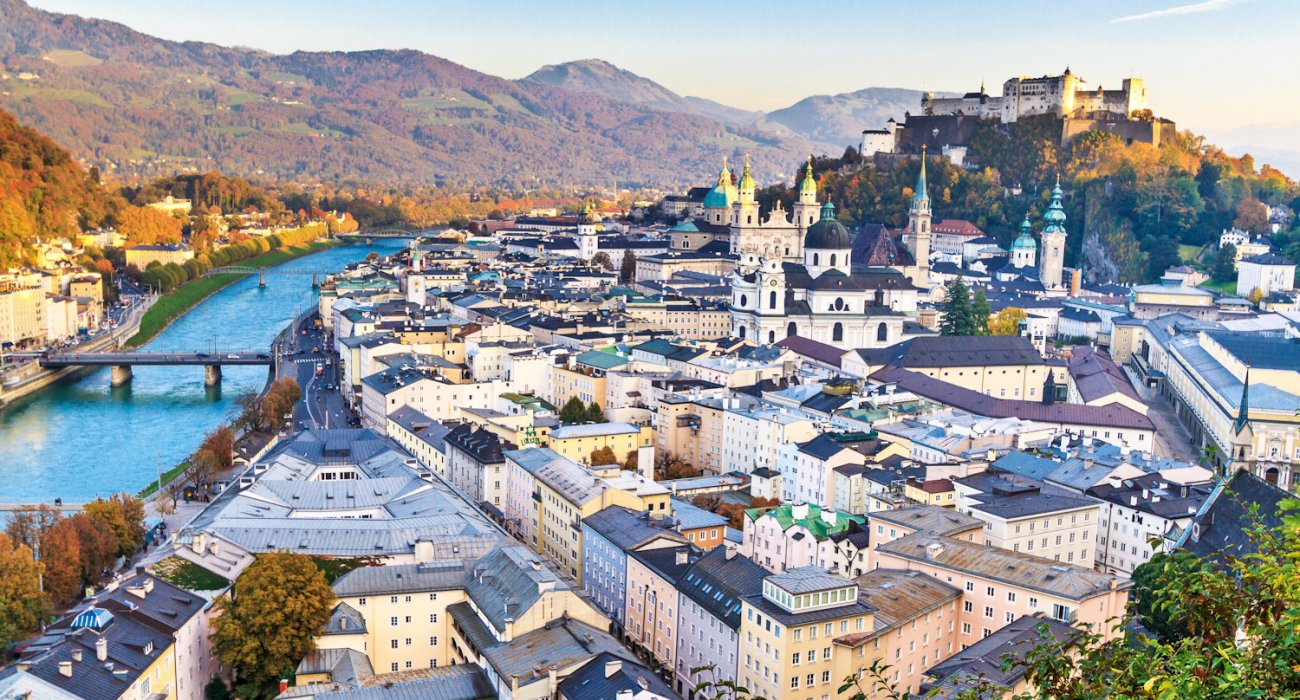 Salzburg Austria in January - Image 1