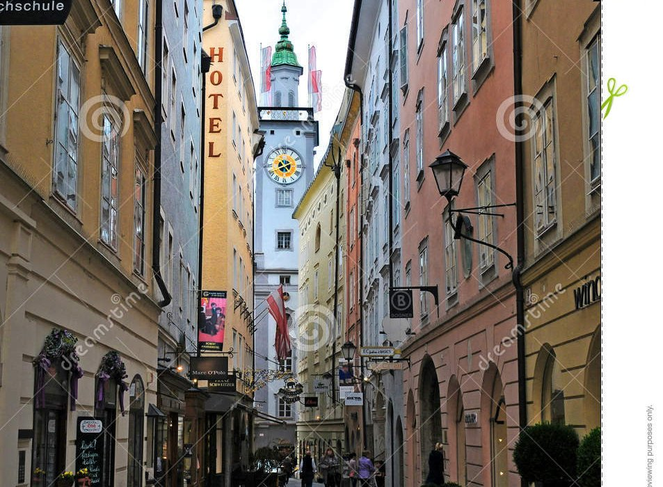 Salzburg Austria in January - Image 2