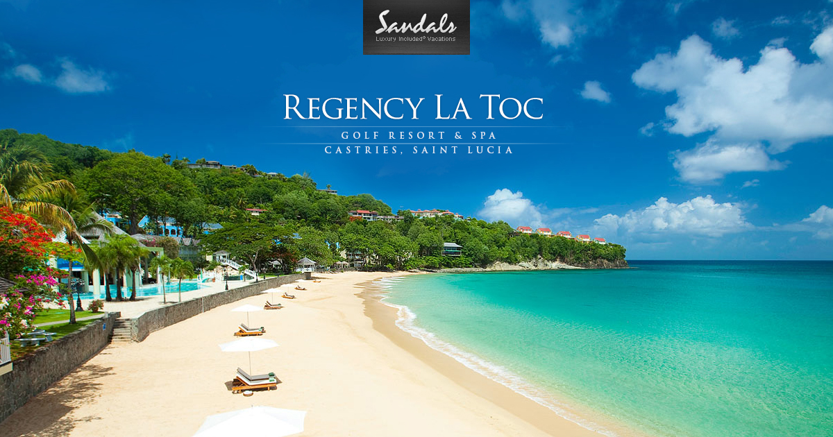 Sandals Le Toc St Lucia Luxury All Included - Image 2
