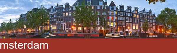 Amsterdam 3 night April City Break