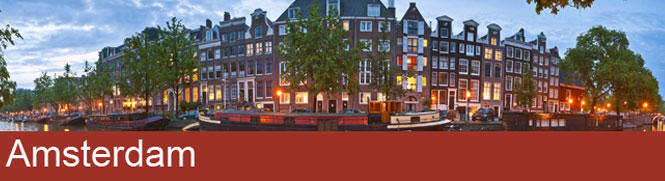 Amsterdam 3 night April City Break - Image 1