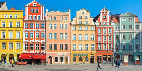 5* Whimsical Wroclaw City Break