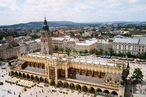Summertime in Krakow Poland