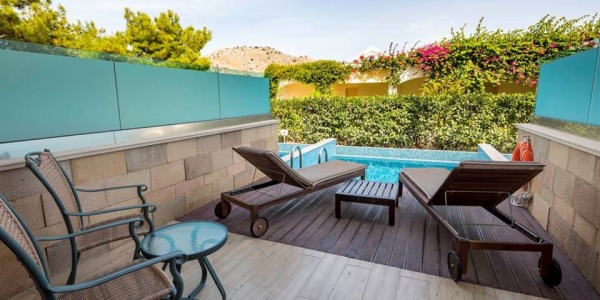 Rhodes Private Pool Resort only £599pp