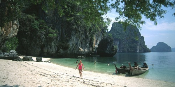 Krabi Beach, Thailand July Value