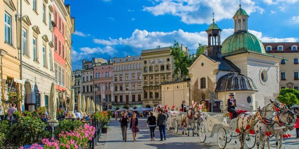 Spend the New Year in Krakow