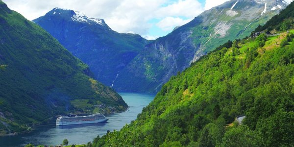 NORWEGIAN FJORDS Cruise – NO FLIGHTS