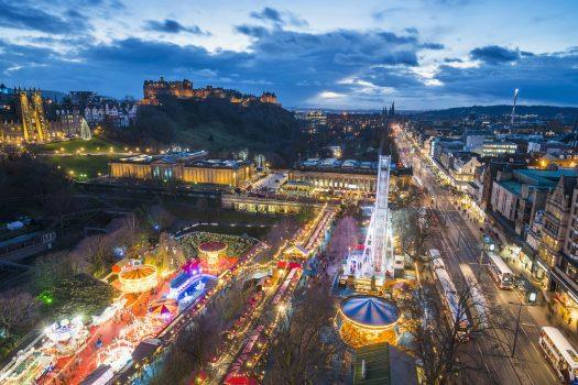 Edinburgh Scotland Christmas Markets - Image 1