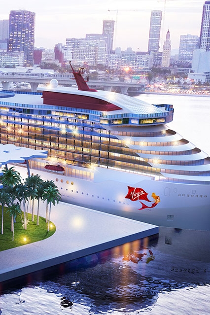 BRAND NEW Adult Only Ship from Virgin Voyages - Image 2