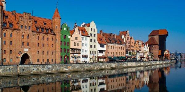 Gdansk on Poland's Baltic Coast