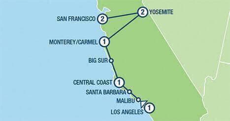 Pacific Coast Highway USA Roadtrip - Image 2