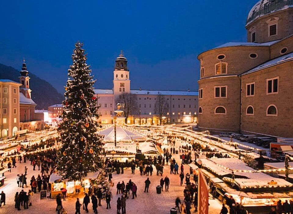 Salzburg Austria Christmas Market - Image 1