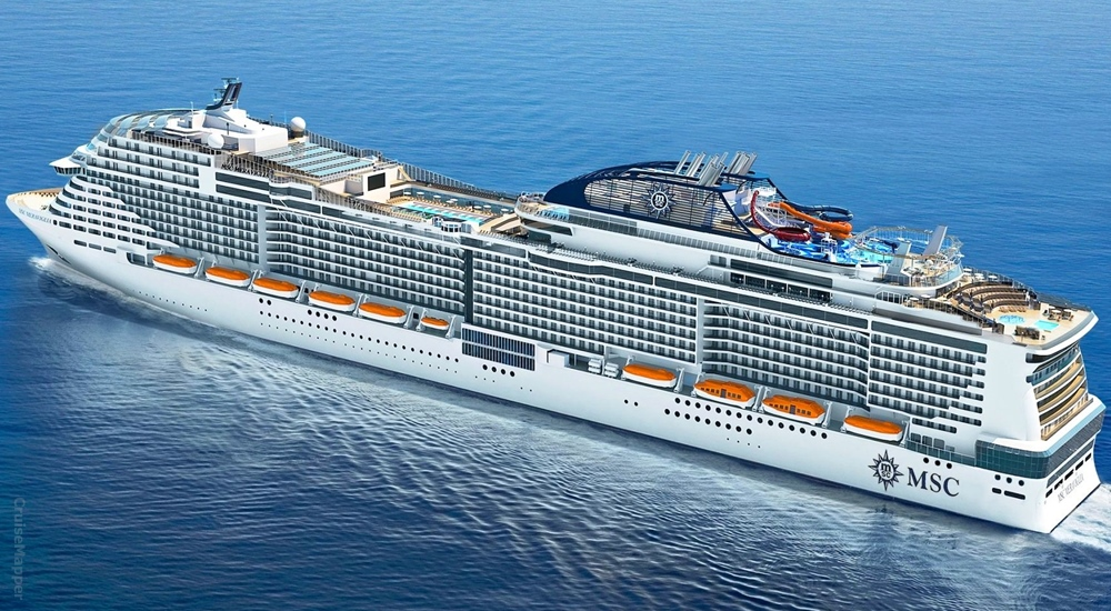 Brand New MSC Cruise Ship 2020! - Image 1