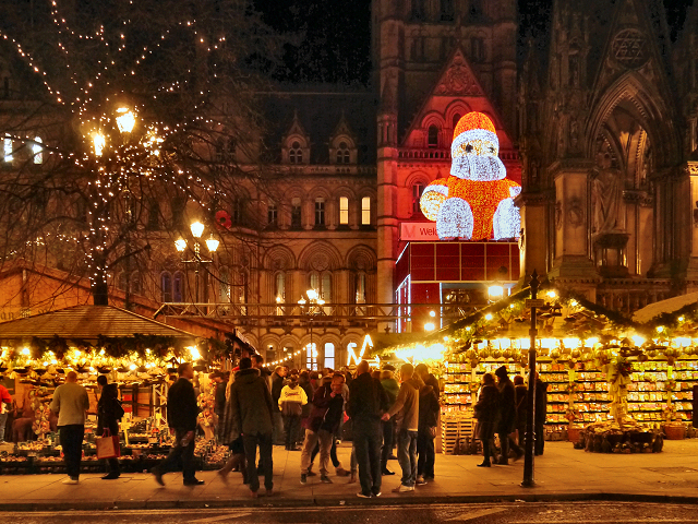 Manchester City Break – Visit the Christmas Markets - Image 1