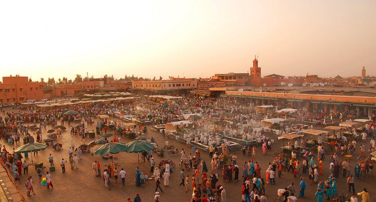 Marrakech December Winter Sun - Image 1
