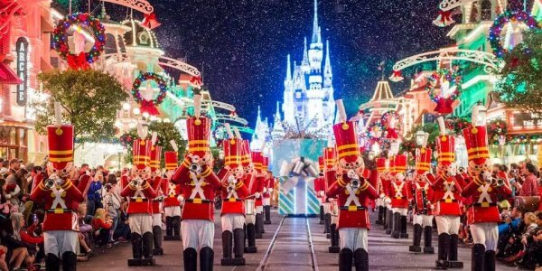 Spend Christmas in Orlando