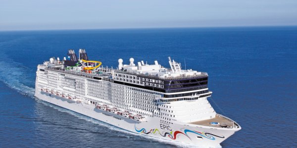 NCL Epic Western Med Cruise