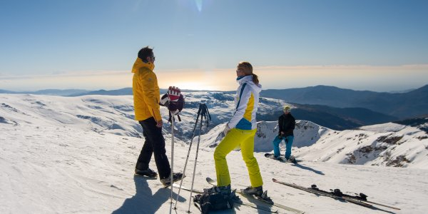 Ski Sierra Nevada New Year on the Slopes