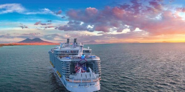 Allure of the Seas Med Cruise