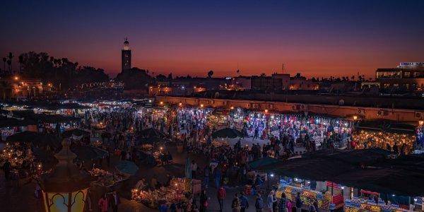 Marrakech and Venice twin centre