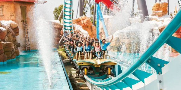 SALOU STAY & PORTAVENTURA TIX INCLUDED