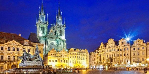 5* Prague CITY BREAK CHRISTMAS GIFT