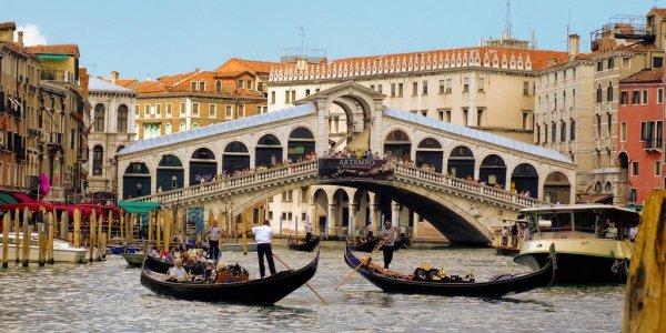 Springtime in Venice Italy