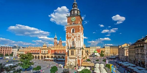KRAKOW 5 NIGHTS FROM only £235