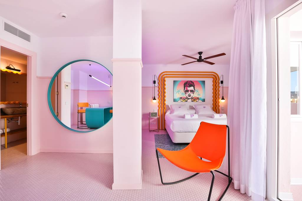 """Insta Famous in Ibiza's Famous Chic """"PINK"""" Hotel - Image 2"""