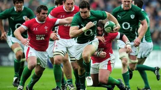 IRELAND SIX NATIONS RUGBY PACKAGES