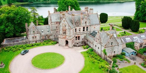 Christmas Gift Idea: Castle Leslie TWO Night Staycation